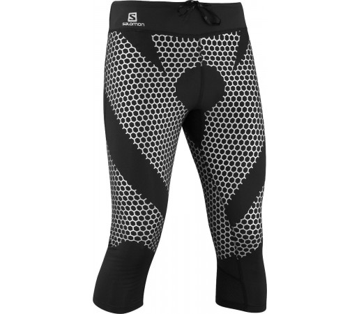 Pantaloni Salomon Exo 3/4 Tight M Grey 2013