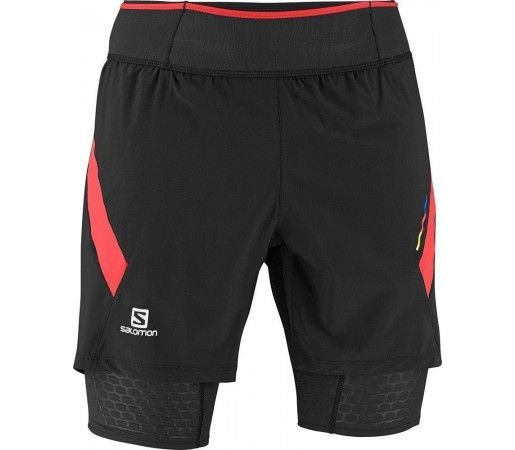 Pantaloni Scurti Compresie Salomon Exo S-Lab TW Short M Black