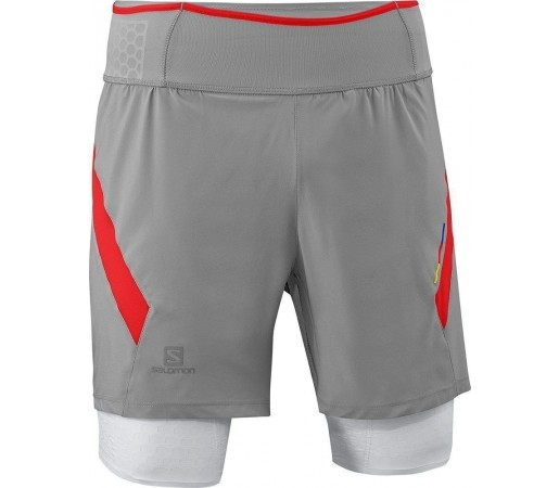 Pantaloni Scurti Compresie Salomon Exo S-Lab TW Short M Grey