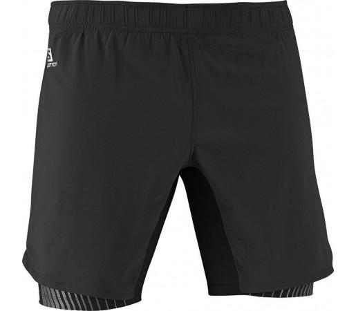 Pantaloni Scurti Salomon Endurance Twinskin Short Black