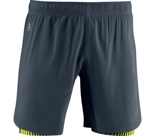 Pantaloni Scurti Salomon Endurance Twinskin Short Grey