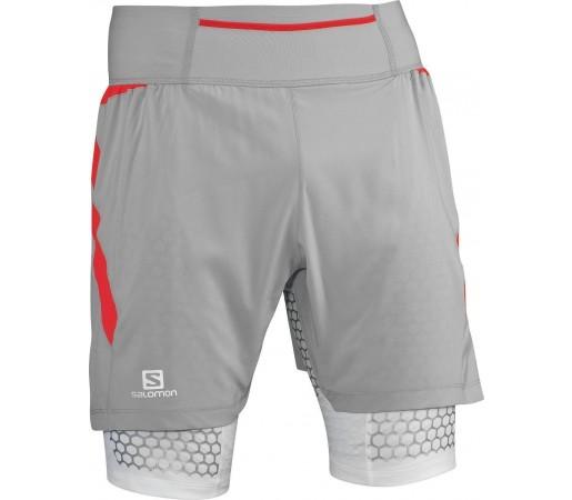 Pantaloni Scurti Salomon Exo S-Lab TW Short M Grey 2013