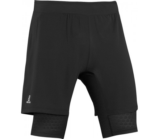 Pantaloni Scurti Salomon Exo Wings TW Short M Black 2013