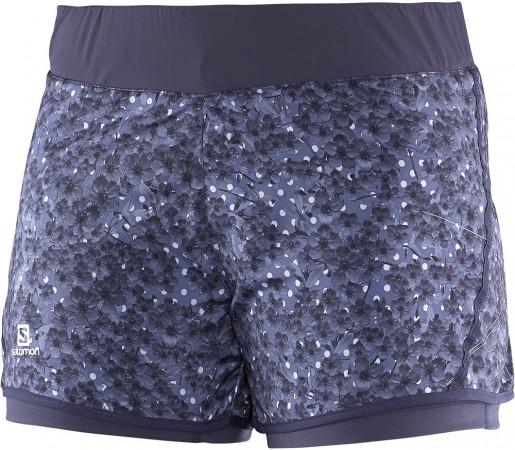 Pantaloni scurti Salomon Park 2in1 Short W Violet