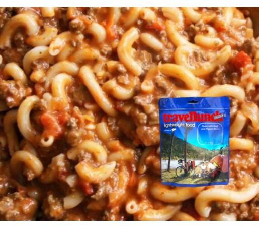 Aliment Travellunch gulas din carne de vita cu paste