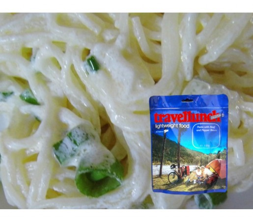 Aliment Travellunch paste in sos de smantana cu verdeata