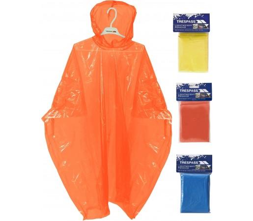Pelerina ploaie Trespass Drylite Orange