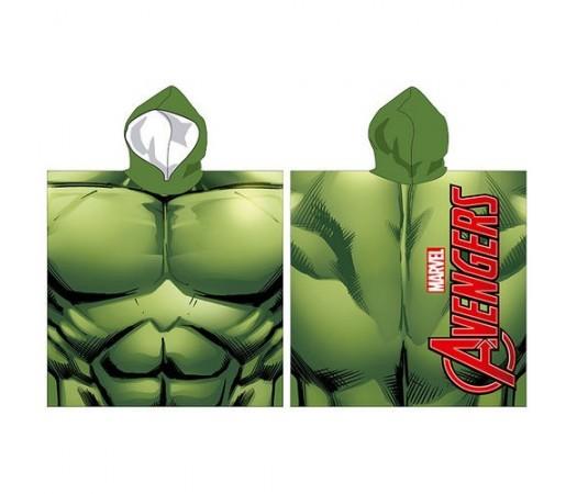 Poncho Marvel Avengers Hulk Verde