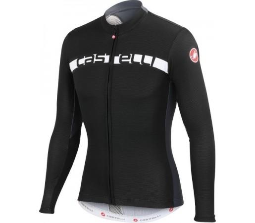 Bluza ciclism Castelli Prologo 4 Negru