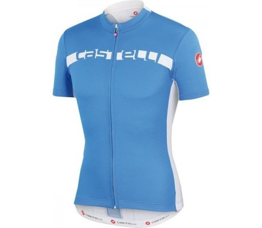 Tricou ciclism Castelli Prologo 4 Albastru