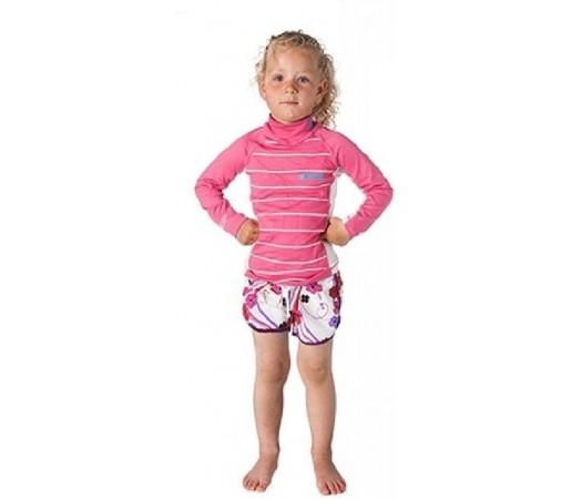 Bluza cu protectie UV Mystic Star Vest LS Roz
