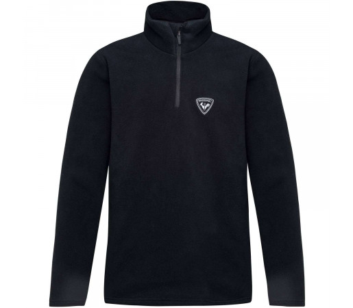 Bluza First Layer Copii Rossignol Boy 1/2 Zip Fleece Black (Negru)