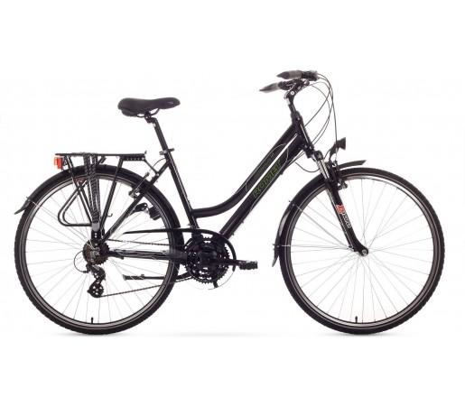 Bicicleta de trekking Romet GAZELA 1.0 Negru 2015