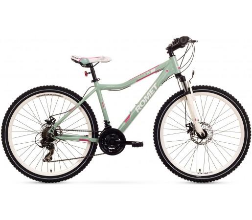 Bicicleta de munte Romet Jolene 26 2.0 Verde/Roz