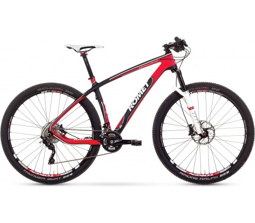 Bicicleta de munte Romet Monsun 29 2.0 Negru\Rosu