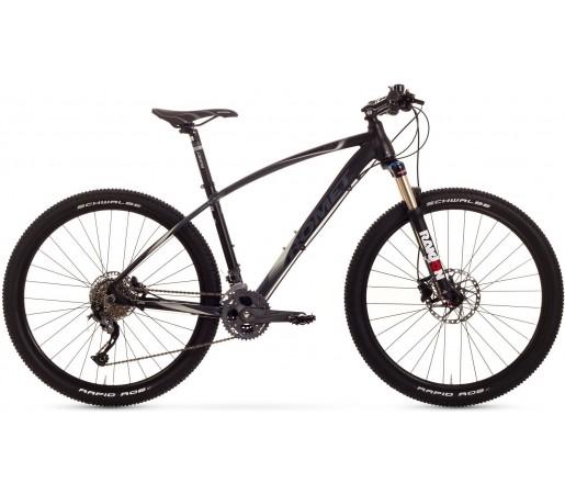 Bicicleta de munte Romet Mustang 27.5 1.0 Negru/Gri