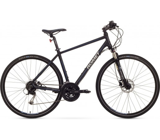 Bicicleta trekking Romet Orkan 4.0 M Negru