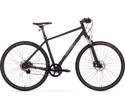 Bicicleta trekking Romet Orkan 6.0 Negru