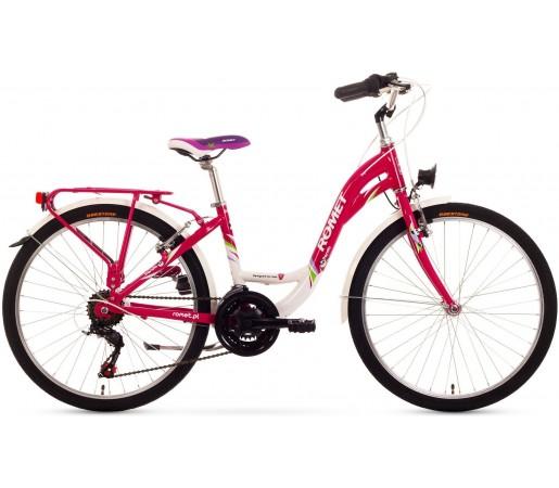 Bicicleta de copii Romet PANDA 24 Roz 2015