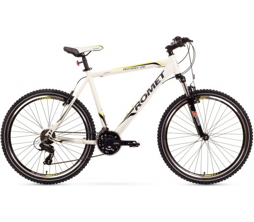 Bicicleta de munte Romet Rambler 26 3.0 Alb/Verde
