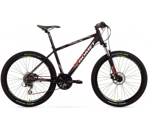 Bicicleta de munte Romet Rambler 26 4.0 Negru/Rosu