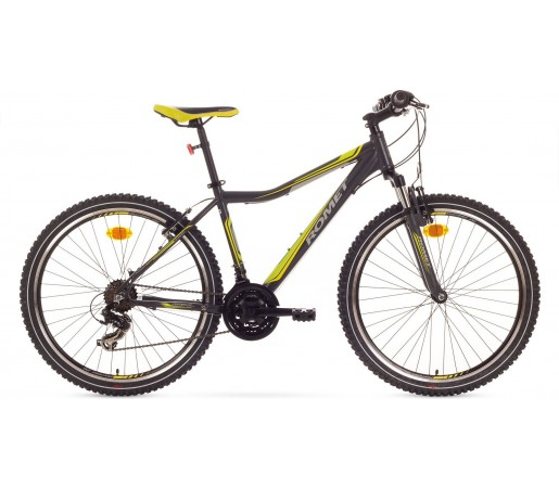 Bicicleta de munte Romet Rambler 26 JR Negru/Verde