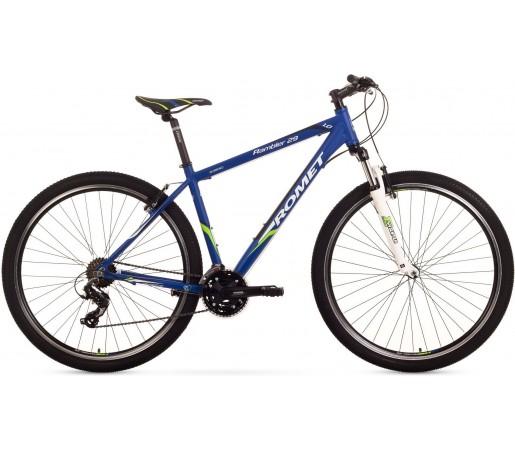 Bicicleta de munte Romet Rambler 29 1.0 Albastru/Verde