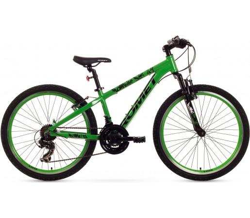 Bicicleta de copii Romet RAMBLER DIRT 24 Verde-Negru 2015