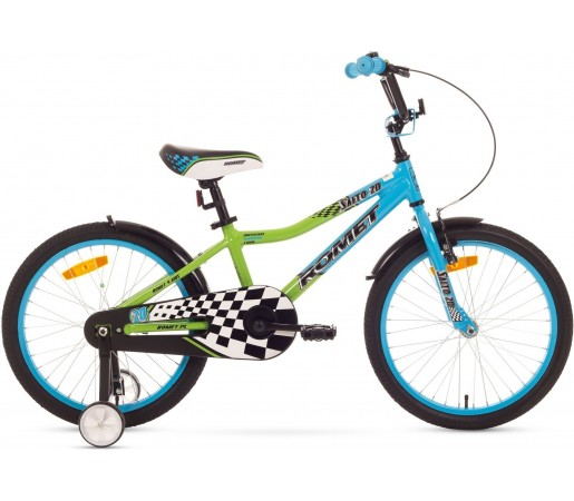 Bicicleta de copii Romet SALTO 20 Albastru-Verde 2015