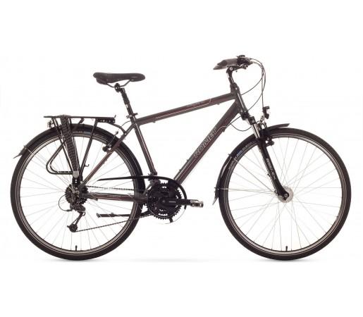 Bicicleta trekking Romet Wagnat 4.0 Grafit