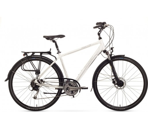 Bicicleta trekking Romet Wagnat 5.0 Alb