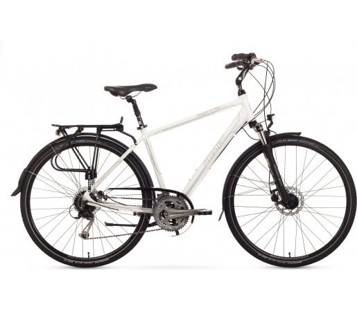 Bicicleta trekking Romet Gazela 5.0 Alb