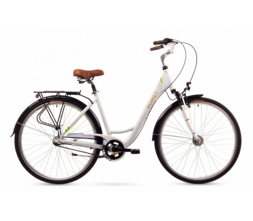 Bicicleta oras Romet Art Deco 3 Alba 2016