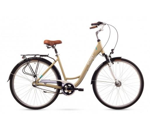 Bicicleta oras Romet Art Deco 3 Crem 2016