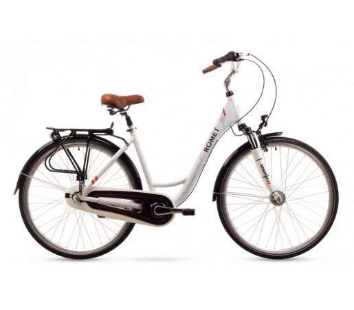 Bicicleta oras Romet Art Deco 7 Alba 2016