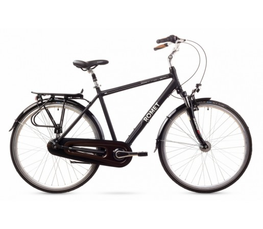 Bicicleta oras Romet Art Noveau 8 Neagra 2016