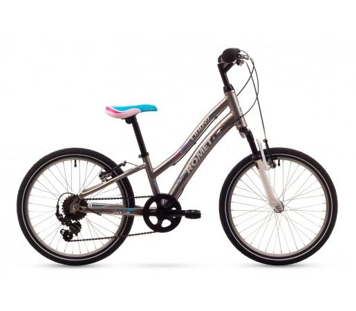 Bicicleta copii Romet Cindy Gri 2016