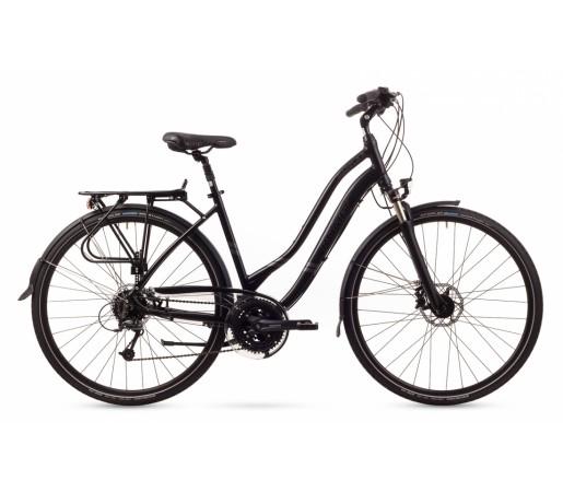 Bicicleta trekking Romet Gazela 5 Neagra 2016