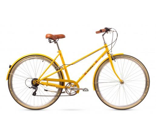 Bicicleta oras Romet Mikste Galbena 2016