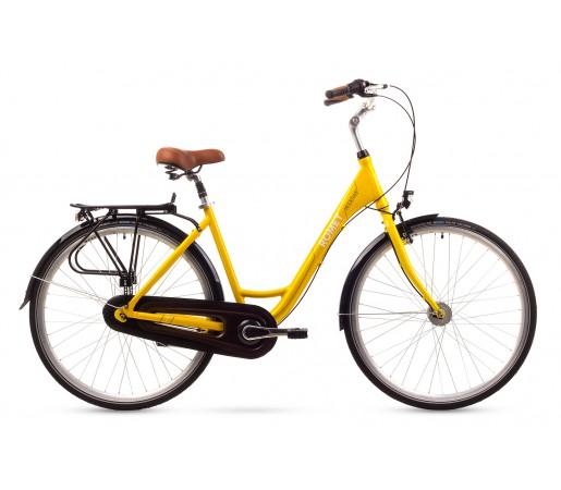 Bicicleta oras Romet Moderne 7 Galbena 2016