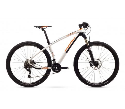 Bicicleta de munte Romet Monsun 1 Alb/Portocaliu 2016