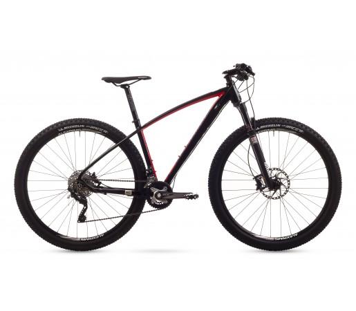 Bicicleta de munte Romet Mustang 3 Negru/Rosu 2016
