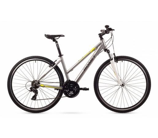 Bicicleta cross Romet Orkan 1D Argintie 2016