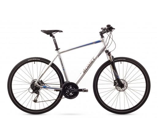 Bicicleta cross Romet Orkan 4M Argintie 2016