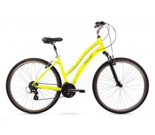 Bicicleta oras Romet Perlle Galbena 2016