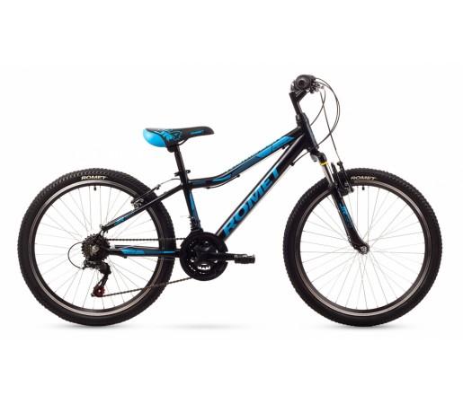 Bicicleta copii Romet Rambler 24 Neagra 2016