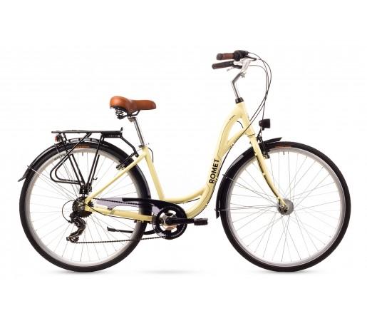 Bicicleta oras Romet Sonata Crem 2016