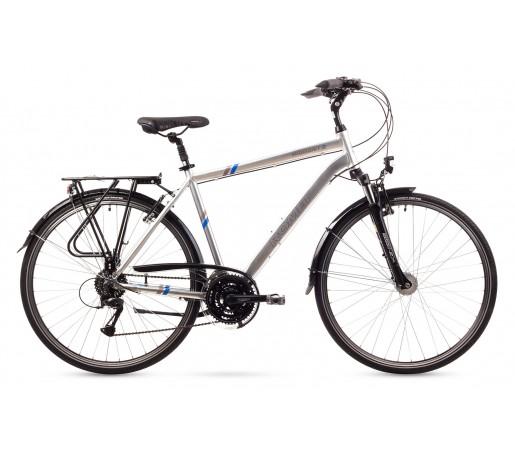 Bicicleta trekking Romet Wagant 3 Argintie 2016