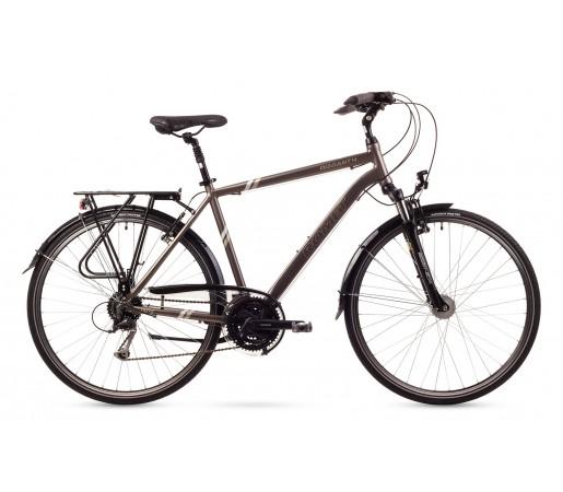 Bicicleta trekking Romet Wagant 4 Argintie 2016