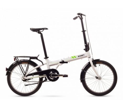 Bicicleta pliabila Romet Wigry 2 11 Alba 2016